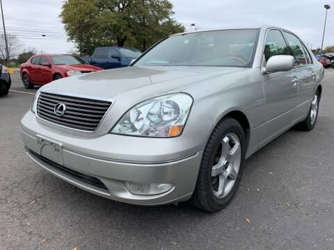 2003 Lexus LS 430 for sale at John 3:16 Motors in San Antonio TX