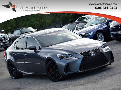 2017 Lexus IS 300 for sale at Star Motor Sales in Downers Grove IL