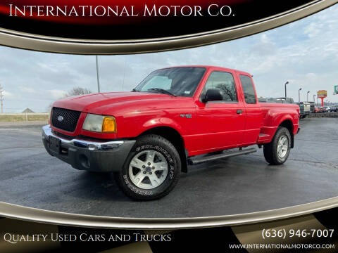 2002 Ford Ranger for sale at International Motor Co. in St. Charles MO