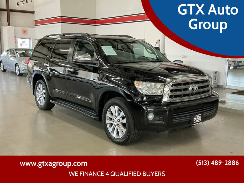 2008 Toyota Sequoia for sale at GTX Auto Group in West Chester OH