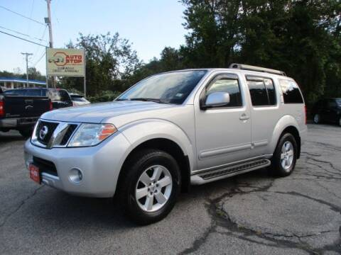 2010 Nissan Pathfinder for sale at AUTO STOP INC. in Pelham NH