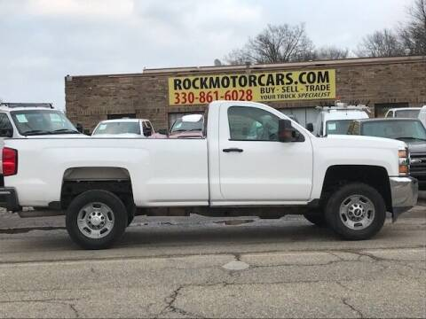 2015 Chevrolet Silverado 2500HD for sale at ROCK MOTORCARS LLC in Boston Heights OH