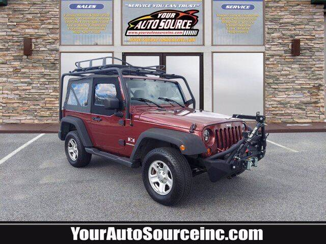 2007 Jeep Wrangler for sale at Your Auto Source in York PA