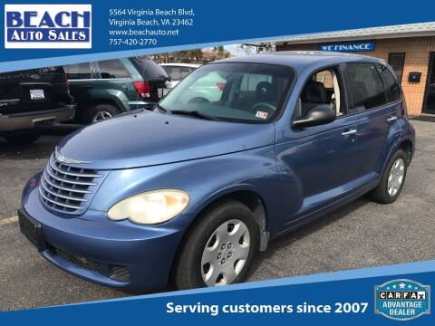 2007 Chrysler PT Cruiser for sale at Beach Auto Sales in Virginia Beach VA
