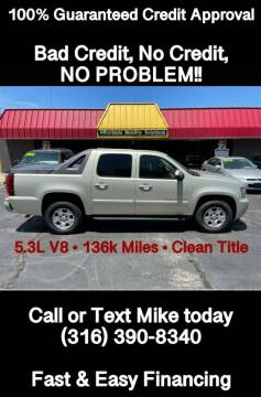 2007 Chevrolet Avalanche for sale at Affordable Mobility Solutions, LLC - Standard Vehicles in Wichita KS