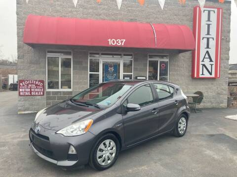 2013 Toyota Prius c for sale at Titan Auto Sales LLC in Albany NY