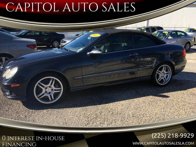 2008 Mercedes-Benz CLK for sale at CAPITOL AUTO SALES LLC in Baton Rouge LA