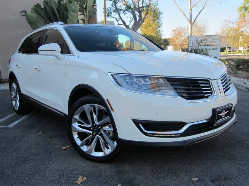 2016 Lincoln MKX for sale at ORANGE COUNTY AUTO WHOLESALE in Irvine CA