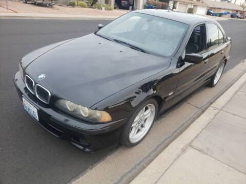 2003 BMW 5 Series for sale at Classic Car Deals in Cadillac MI