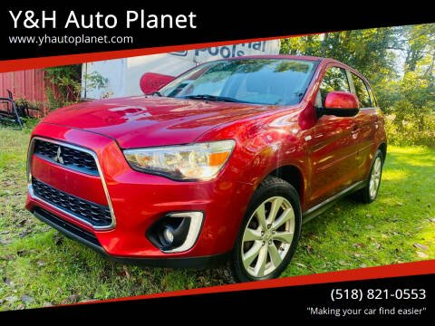 2015 Mitsubishi Outlander Sport for sale at Y&H Auto Planet in West Sand Lake NY