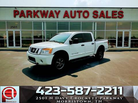 2015 Nissan Titan for sale at Parkway Auto Sales, Inc. in Morristown TN