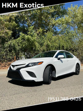 2019 Toyota Camry for sale at HKM Exotics in Corona CA