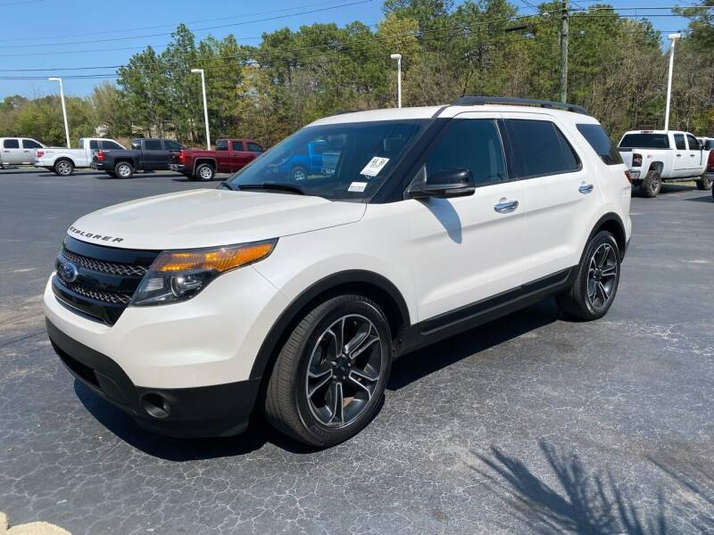 2013 Ford Explorer for sale at Rock 'n Roll Auto Sales in West Columbia SC