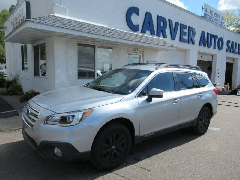 2017 Subaru Outback for sale at Carver Auto Sales in Saint Paul MN