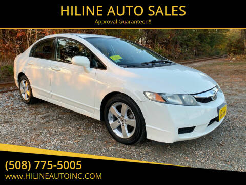2009 Honda Civic for sale at HILINE AUTO SALES in Hyannis MA