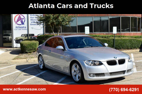 2008 BMW 3 Series for sale at Atlanta Cars and Trucks in Kennesaw GA