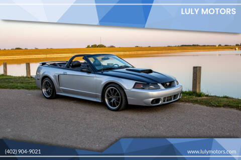 2003 Ford Mustang for sale at Luly Motors in Lincoln NE