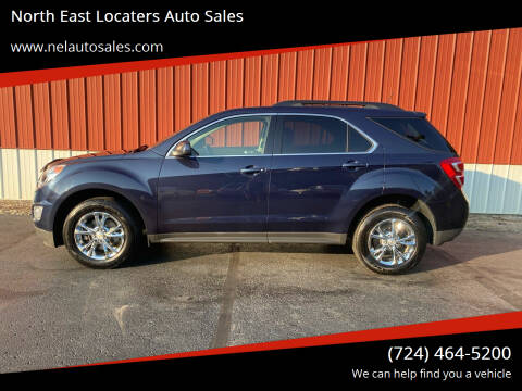 2017 Chevrolet Equinox for sale at North East Locaters Auto Sales in Indiana PA