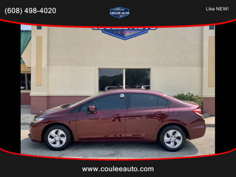 2015 Honda Civic for sale at Coulee Auto in La Crosse WI