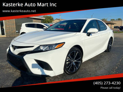 2018 Toyota Camry for sale at Kasterke Auto Mart Inc in Shawnee OK
