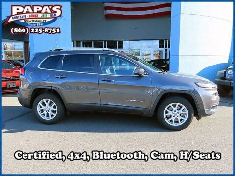 2018 Jeep Cherokee for sale at Papas Chrysler Dodge Jeep Ram in New Britain CT