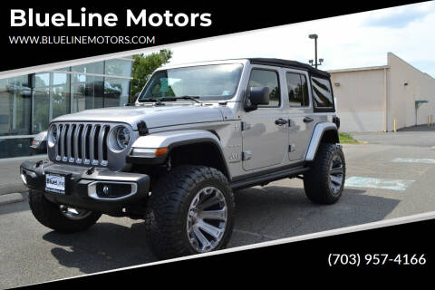 2018 Jeep Wrangler Unlimited for sale at Blue Line Motors in Winchester VA