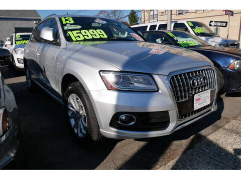 2013 Audi Q5 for sale at M & R Auto Sales INC. in North Plainfield NJ