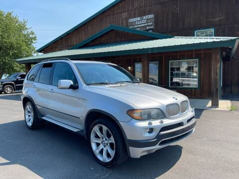 2004 BMW X5 for sale at Coeur Auto Sales in Hayden ID