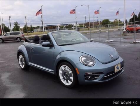 2019 Volkswagen Beetle Convertible for sale at BOB ROHRMAN FORT WAYNE TOYOTA in Fort Wayne IN