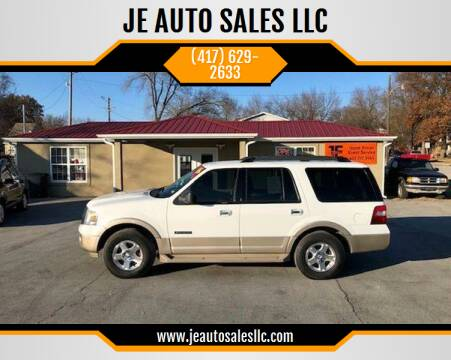 2007 Ford Expedition for sale at JE AUTO SALES LLC in Webb City MO