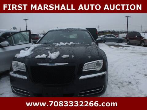 2012 Chrysler 300 for sale at First Marshall Auto Auction in Harvey IL