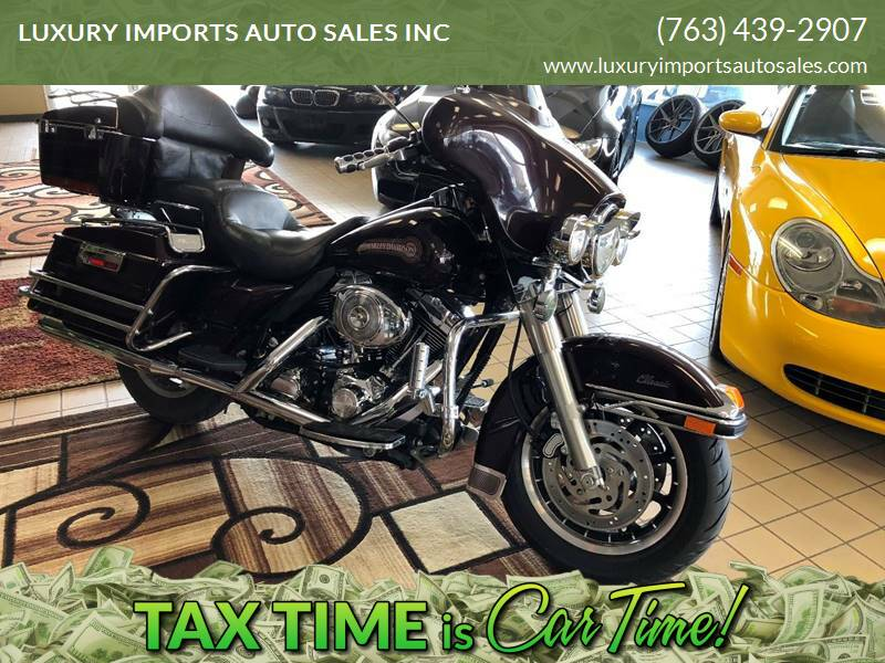 2005 Harley-Davidson FLHTCI for sale at LUXURY IMPORTS AUTO SALES INC in North Branch MN