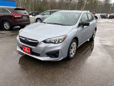 2018 Subaru Impreza for sale at AutoMile Motors in Saco ME
