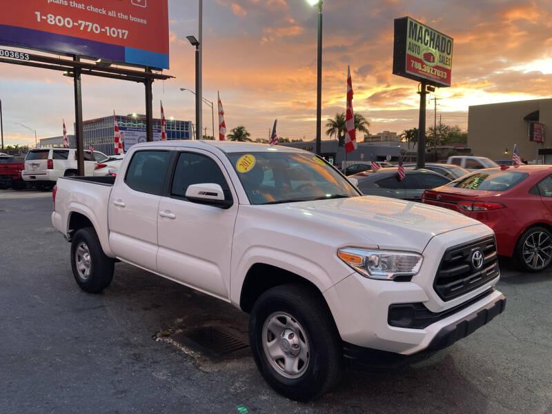 2017 Toyota Tacoma for sale at MACHADO AUTO SALES in Miami FL