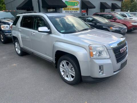 2010 GMC Terrain for sale at QUINN'S AUTOMOTIVE in Leominster MA