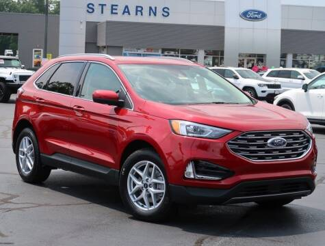 2021 Ford Edge for sale at Stearns Ford in Burlington NC