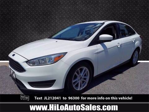2018 Ford Focus for sale at Hi-Lo Auto Sales in Frederick MD