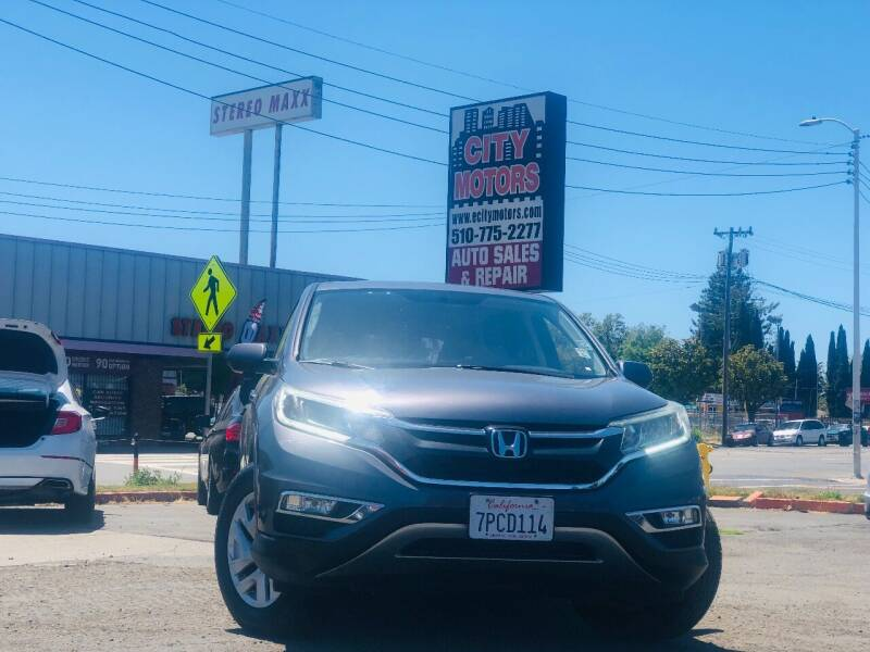 2015 Honda CR-V for sale at City Motors in Hayward CA