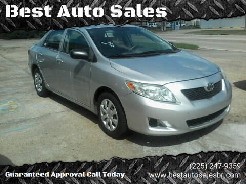 2009 Toyota Corolla for sale at Best Auto Sales in Baton Rouge LA