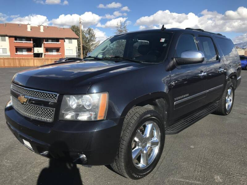 2013 Chevrolet Suburban for sale at INVICTUS MOTOR COMPANY in West Valley City UT