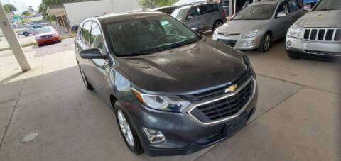 2018 Chevrolet Equinox for sale at Divine Auto Sales LLC in Omaha NE