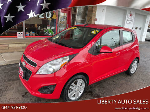 2013 Chevrolet Spark for sale at Liberty Auto Sales in Elgin IL