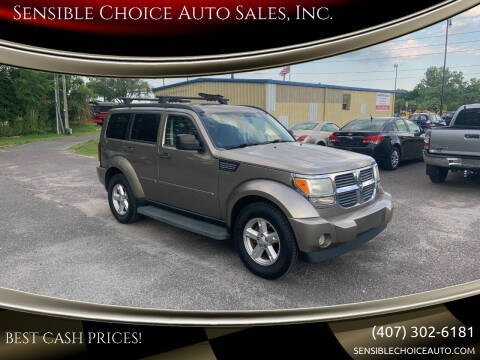 2007 Dodge Nitro for sale at Sensible Choice Auto Sales, Inc. in Longwood FL