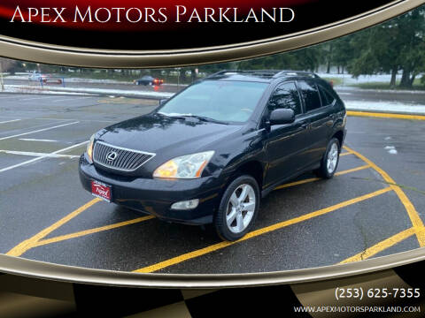 2004 Lexus RX 330 for sale at Apex Motors Parkland in Tacoma WA