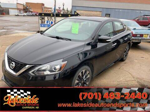 2018 Nissan Sentra for sale at Lakeside Auto & Sports in Garrison ND