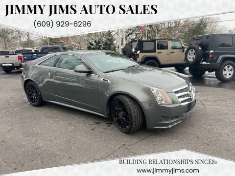 2011 Cadillac CTS for sale at Jimmy Jims Auto Sales in Tabernacle NJ
