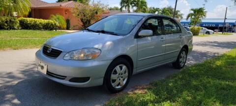 2005 Toyota Corolla for sale at USA BUSINESS SOLUTIONS GROUP in Davie FL
