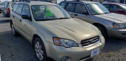 2006 Subaru Outback for sale at B & J Auto Sales in Tunnelton WV
