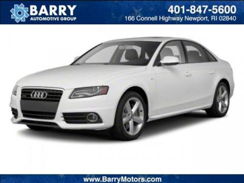 2010 Audi A4 for sale at BARRYS Auto Group Inc in Newport RI