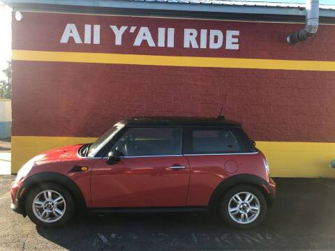 2012 MINI Cooper Hardtop for sale at Big Daddy's Auto in Winston-Salem NC